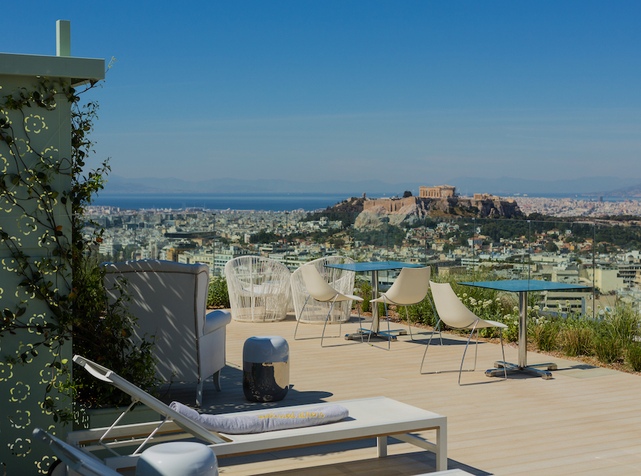 St George Lycabettus Hotel in Athen